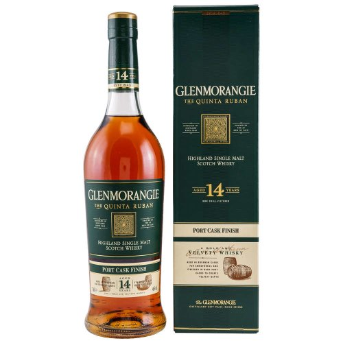 Glenmorangie Quinta Ruban 14 Jahre Port Cask Finish 46% vol. 700ml