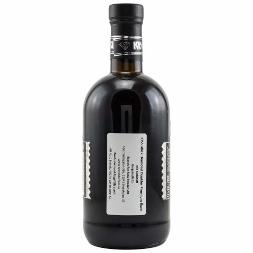 Kiss Black Diamond Premium Dark Rum 40% vol. 0.50l