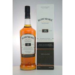 Bowmore 15  Jahre Golden & Elegant 43% Vol. 1 Liter