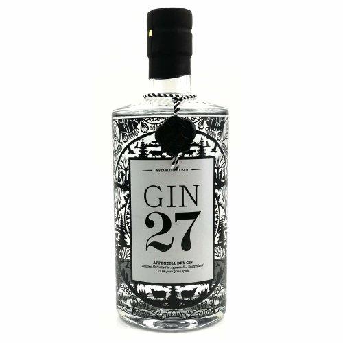 Gin 27 Appenzeller Dry Gin 43% Vol. 700ml