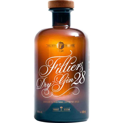 Filliers Dry Gin 28 Small Batch 46% Vol. 500ml