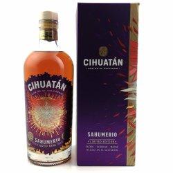 Cihuatan Sahumerio Rum 45,2% vol. 700ml