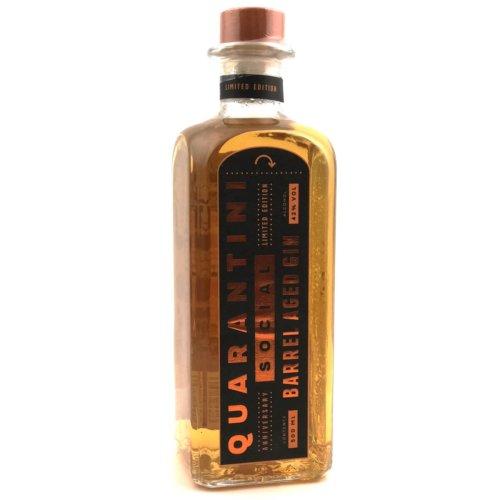 Quarantini Social Barrel Aged Gin 42% Vol. 500ml