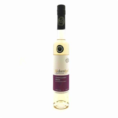 Birkenhof Löhrpflaumen Brand im Cognac Fass gereift 40% vol. 0.50 l