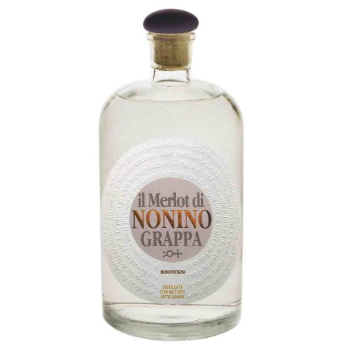 Nonino Grappa Merlot 41% vol. 700ml