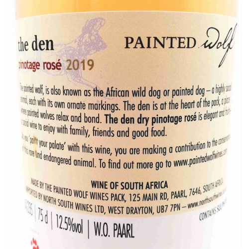 Painted Wolf The Den Pinotage Rosé 2019 Südafrika 12,5% vol. 750ml