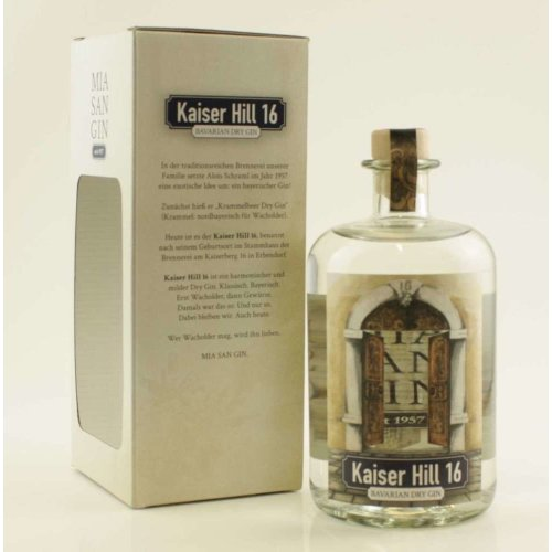 Kaiser Hill 16 Dry Gin Mia San Gin 42% vol. 700ml